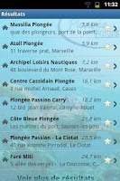Screenshot of French Dive Directory