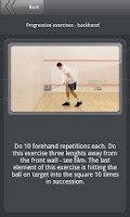 Screenshot of Squash Academy Lite