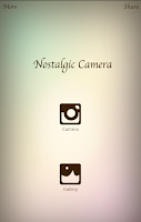 Screenshot of Nostalgic Camera