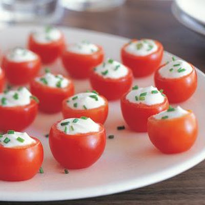 Goat Cheese–Stuffed Tomatoes