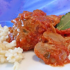 Craze-E Turkey Meatballs in Sauce