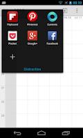 Screenshot of MoreSpace: SwipePad add-on