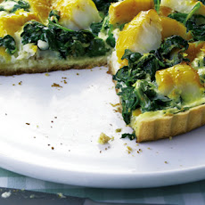 Zesty Smoked Haddock And Spinach Tart