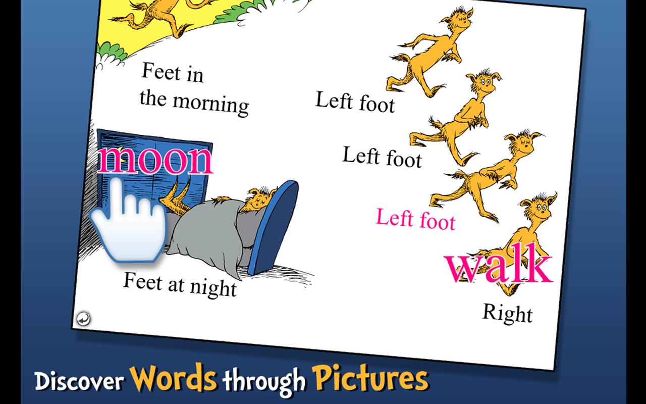 The FOOT Book - Dr. Seuss Screenshot 7