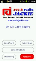 Screenshot of 107.8 Radio Jackie