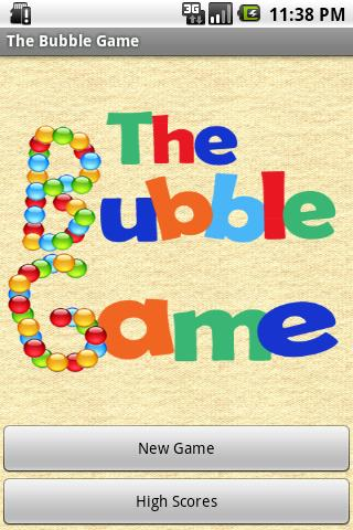 The Bubble Game