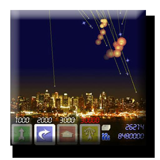 戦略ミサイルコマンド Shooting Stars 街機 App LOGO-硬是要APP