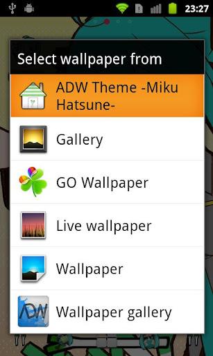 【免費個人化App】ADW Theme -Miku Hatsune--APP點子
