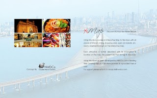 Screenshot of Mumbai on an Interactive Map