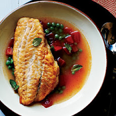 Snapper in Tomato Broth