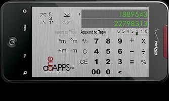 Screenshot of Calculator