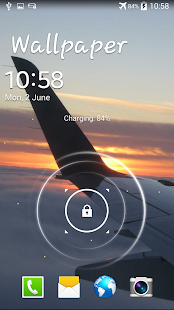 Plane Live Wallpaper - screenshot