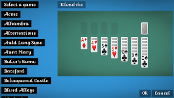 Screenshot of 50+ Solitaire Card Games