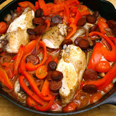 Daniel Boulud's Braised Basque Chicken with Tomatoes and Paprika