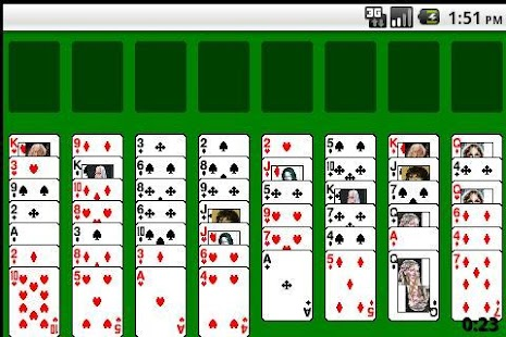 Famous solitaire - screenshot
