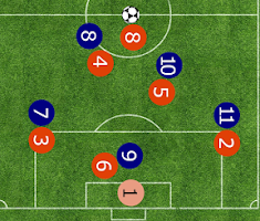 Screenshot of FootballTacticApp