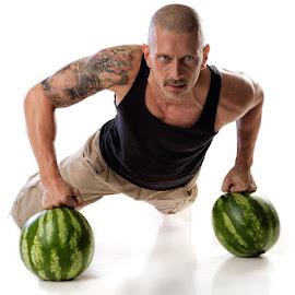 Ifeel good by Krume Ivanovski - Sports & Fitness Fitness ( training, green sport, sport life, fitness, watter melon )