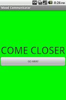 Screenshot of Mood Communicator