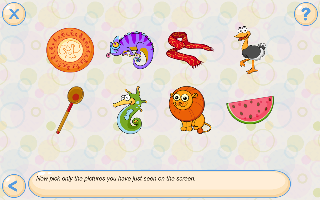 Memory games for kids 4 years Screenshot 17