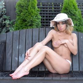 innocent swing by Bogdan T. Fotografie - Nudes & Boudoir Artistic Nude ( erotic, body, nude, girl, boudoir, outdoor, swing )