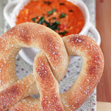 Pizza Dough Pretzels