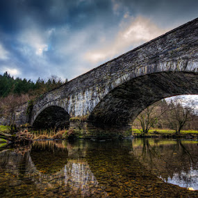 Road Bridge by Mike Shields - Landscapes Waterscapes ( bridge, HDR, Landscapes )