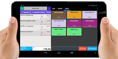 Screenshot of TouchPo Point of Sale Cash POS