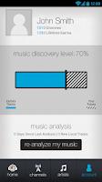 Screenshot of Earbits Music Discovery Radio