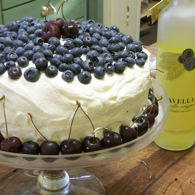 Tres Leches with Limoncello Cream