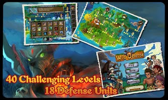 Screenshot of Wild Defense