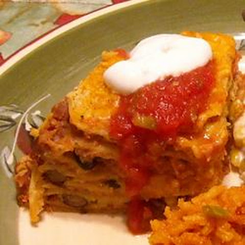 Layered Tortilla Pie Vegetarian Recipes | Yummly
