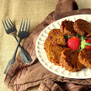 Seitan and Lentil Sausage Patties