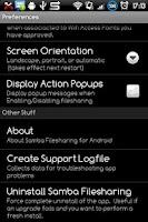 Screenshot of Samba Filesharing for Android