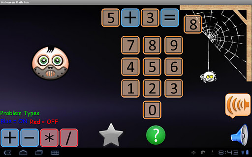 Halloween Math Fun for Tablets
