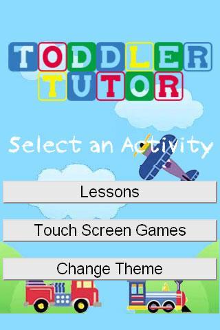 Toddler Tutor Trial