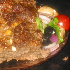 Greek Meatloaf With Feta