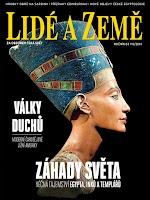 Screenshot of Časopis Lidé a Země