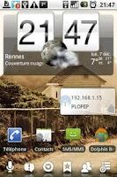 Screenshot of Network Widget