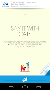 Say it with Cats - screenshot