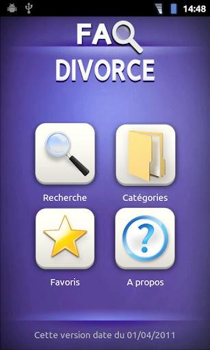 FAQ Divorce