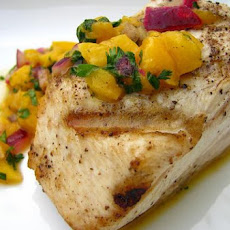 Grilled Tuna with Mango Salsa