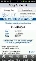 Screenshot of iPharmacy Pill ID & Drug Info