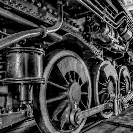 Wheels by RomanDA Photography - Transportation Trains ( wheels, rail, trains )