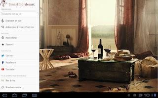 Screenshot of Smart Bordeaux, Bordeaux Wines