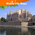 Palma de Mallorca Street Map icon