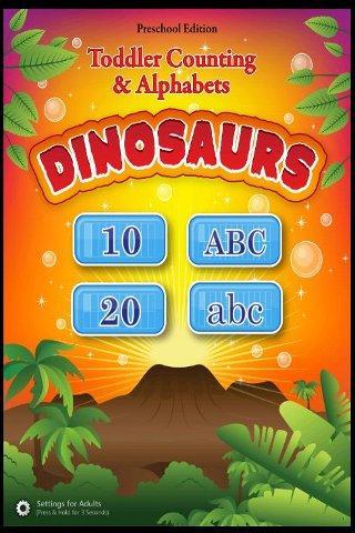 Toddler ABCs 123s Dinosaurs