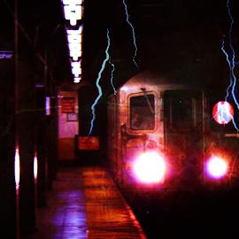 Subways by Trinton Garrett - City,  Street & Park  Street Scenes ( Urban, City, Lifestyle )