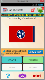 Flag The State - screenshot