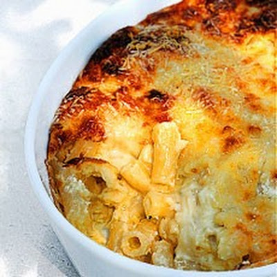Souffled Macaroni Cheese