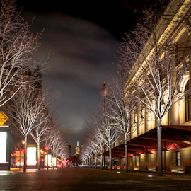 by Wendell Kennedy - City,  Street & Park  Street Scenes
